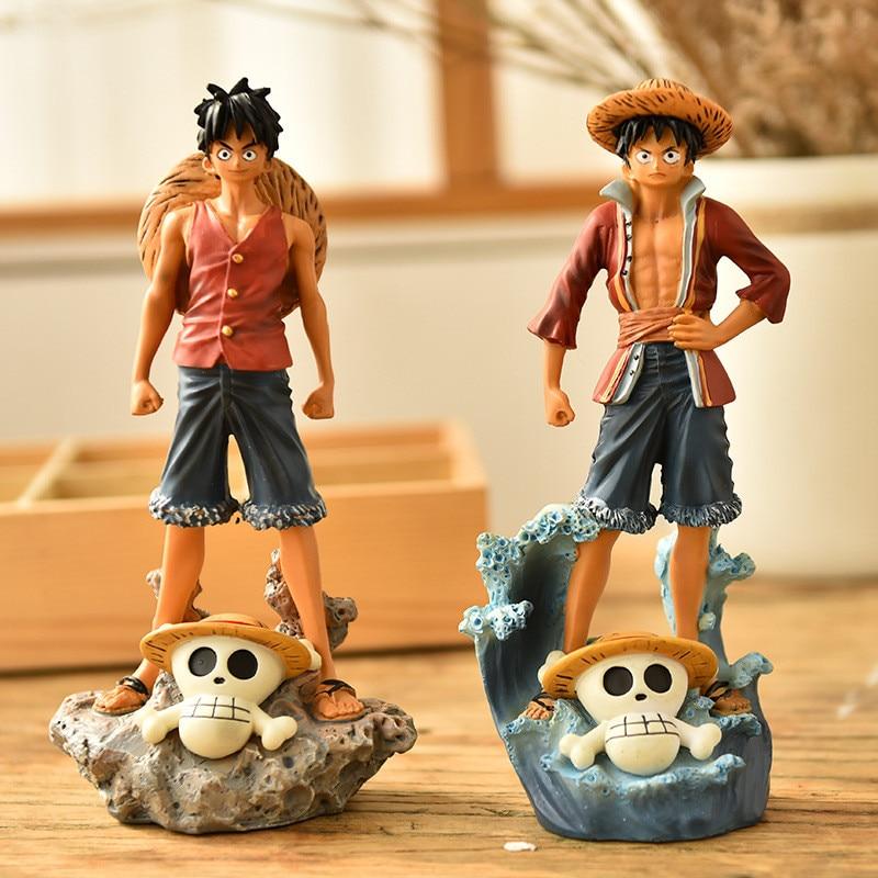 Night-Light One-Piece Resin Z286 Luffy Art-Craft Warrior Home-Decoration-Accessories