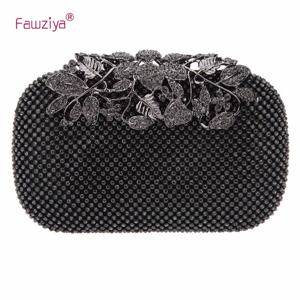 Fawziya Designer Bags China Flower Purses With Rhinestones Crystal Evening  Clutch Bags c419a878640a