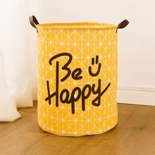 Large Toy Storage Big Size Laundry Basket Washing Dirty Clothes Sundries Box Organizer Bin Folding Waterproof Bathroom Sorter