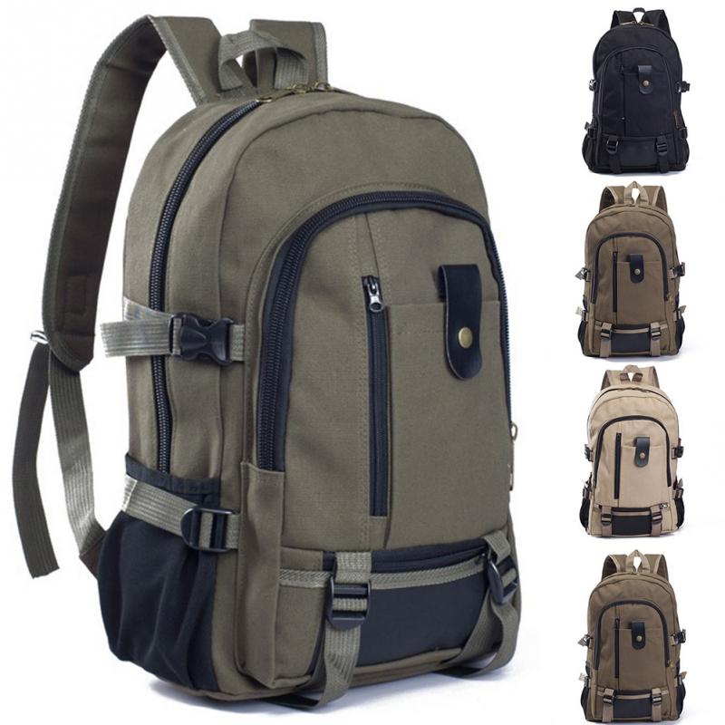New Durable Fashion Canvas Unisex Large Capacity Schoolbag Travel Shoulder Bag Casual Student Backpack ruil 2017 high capacity backpack men s travel durable schoolbag laptop large capacity computer bag