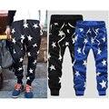 Men's Star Printing Hip Hop Sweat Pants Harem Dance Jogger Baggy Trousers Cool Vestidos