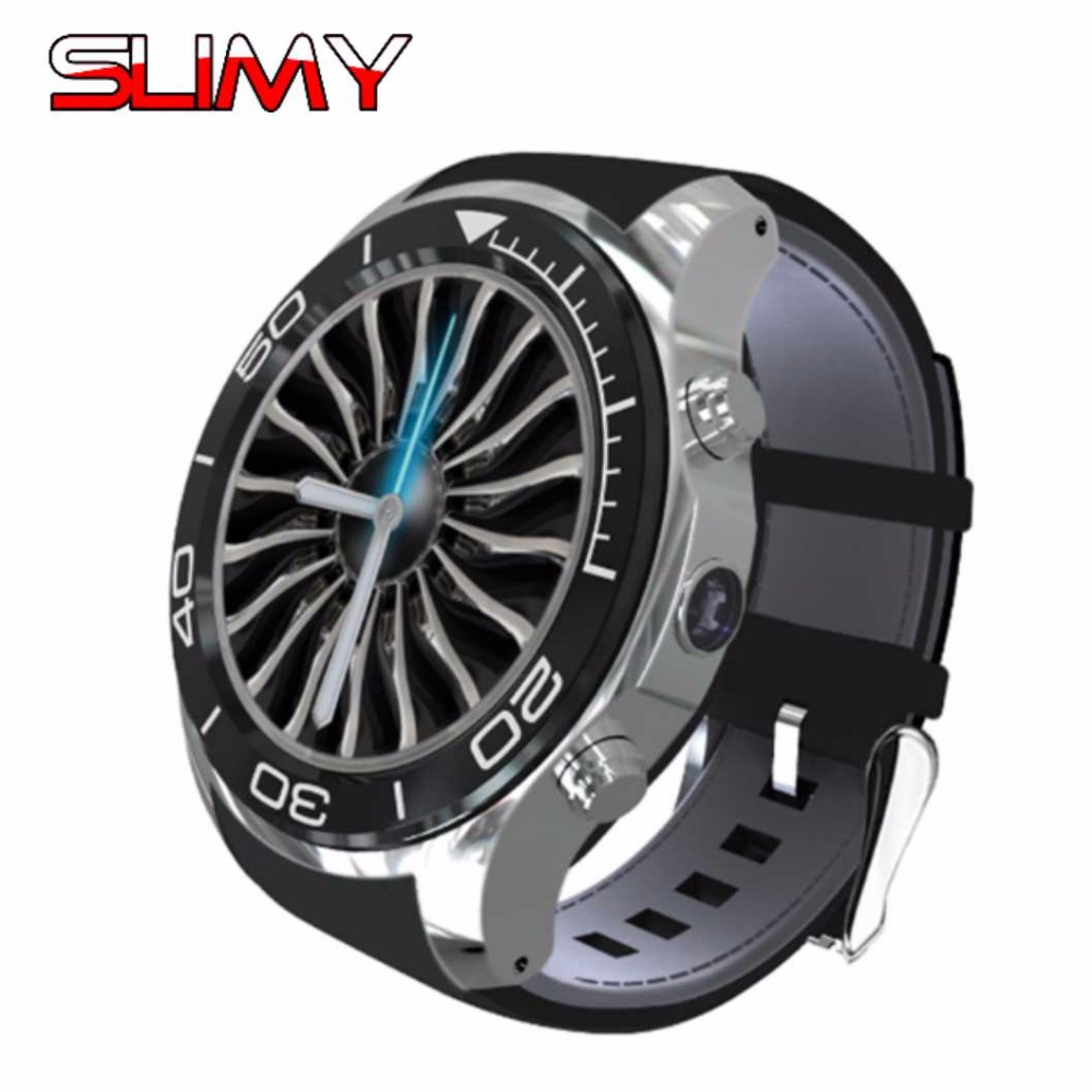 Slimy Android Smart Watch Phone S11 MTK6572 Quad Core Smartwatch Heart Rate Monitor 3G WiFi GPS Watch Phone Support SIM TF Card english 3g smart watch 3g wifi quad core support sim smartwatch gps watch children kid clock for ios android 5 1 megir saat f2
