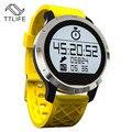 Ttlife bluetooth smart watch relógios de luxo relógio de pulso com dial sms lembre pedômetro inteligente para xiaomi android samsung telefone