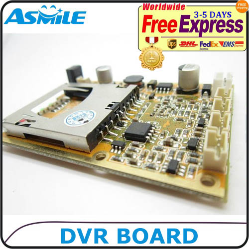 1CH MINI DVR CIRCUIT BOARD WITH D1 RESOLUTION From ASmile