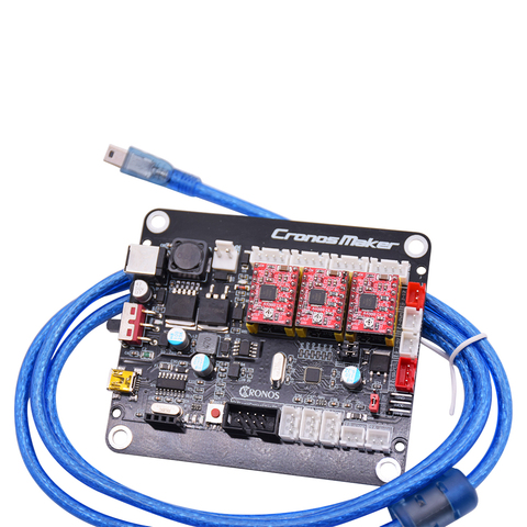 Máquina de Placa Controlador de Placa de Controle da Máquina de Gravura do Cnc Controladora Offline Grbl 0.9j 3 Eixo Porta Usb 16102418 3018