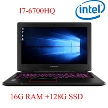 "P6-02 16G DDR4 RAM 128G SSD i7 6700HQ AMD Radeon RX560 NVIDIA GeForce 4G 15.6 gaming laptop"""