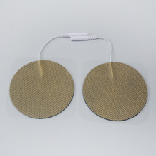 10 Pairs TENS Electrodes Pads Size Diameter 7cm With Plug Hole 2.0mm For TENS/EMS Machines