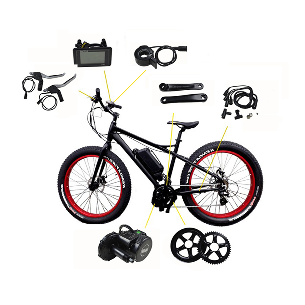 Bafang Electric Bicycle Motor BBSHD03 48V 1000W 8fun/bafang motor BBSHD03 mid crank motor with color display  snow fat bike free shipping electric bicycle 48v 1000w 8fun bafang bbs03 bbshd mid drive motor kit 68mm 100mm 120mm with c965 lcd display