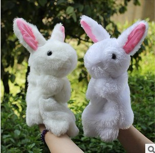 Free shipping 30cm Plush hand puppet toys large sp...