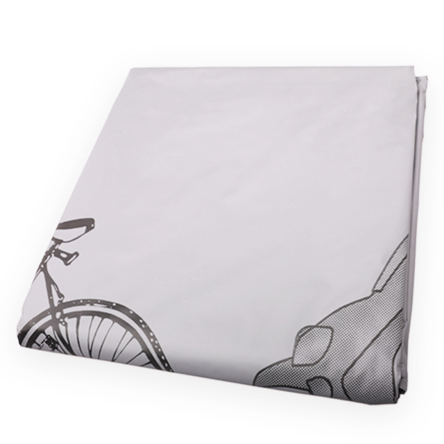 Outdoor Portable Waterproof and Dustproof Bicycle Motorcycle Cover Bicycle Protective Gear Cycling with Seal Strapes