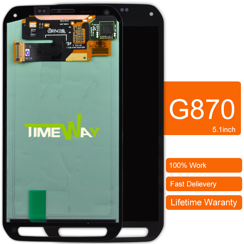 Dhl 5pcs Original 100% For G870 G870a Lcd Display + Digitizer Touch Screen Glass Assembly dhl 5pcs 100