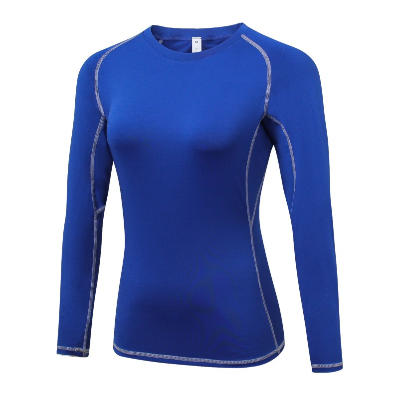 Shirt Compression-Tops Casual Clothing Base-Layer Long-Sleeve Autumn Winter Women Full