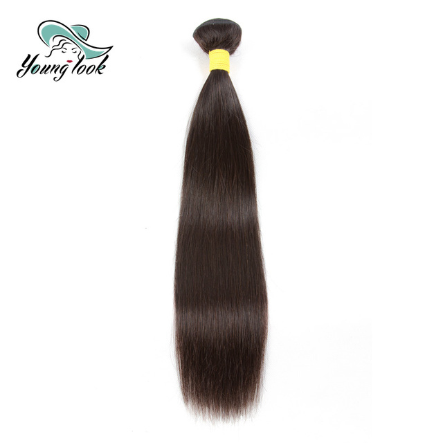Young Look Brazilian Remy Hair Extensions Straight Human Hair
