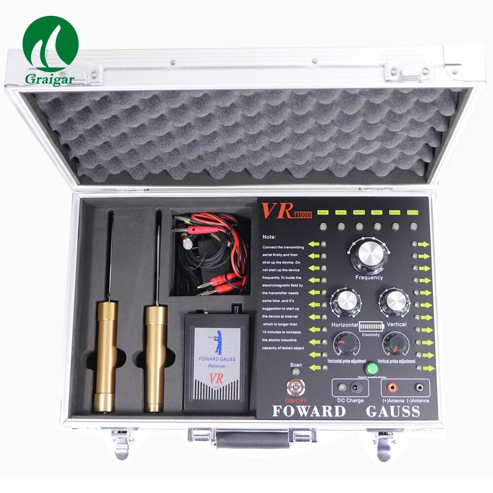 Largement utiliser VR-11000 détecteur de métaux à ultrasons à longue portée en or et gemme gamme de détection: 100-2500 m - 3
