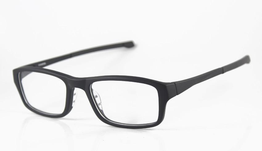 new sports eyewear frames designer frames menswomens brand 8039 black eyeglasses frames 53mm