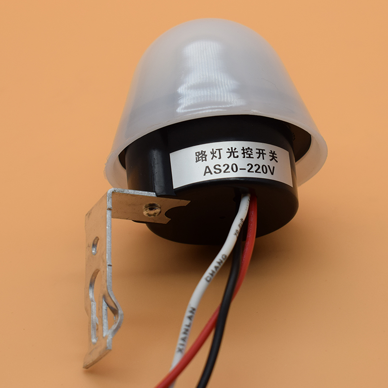 Automatic Auto On Off Photocell street Light Switch DC AC 220V 50-60Hz 10A Photo Control Photoswitch Sensor Switch waterprooof auto street lamp switch photoelectric automatic switches as20 ac220v 10a