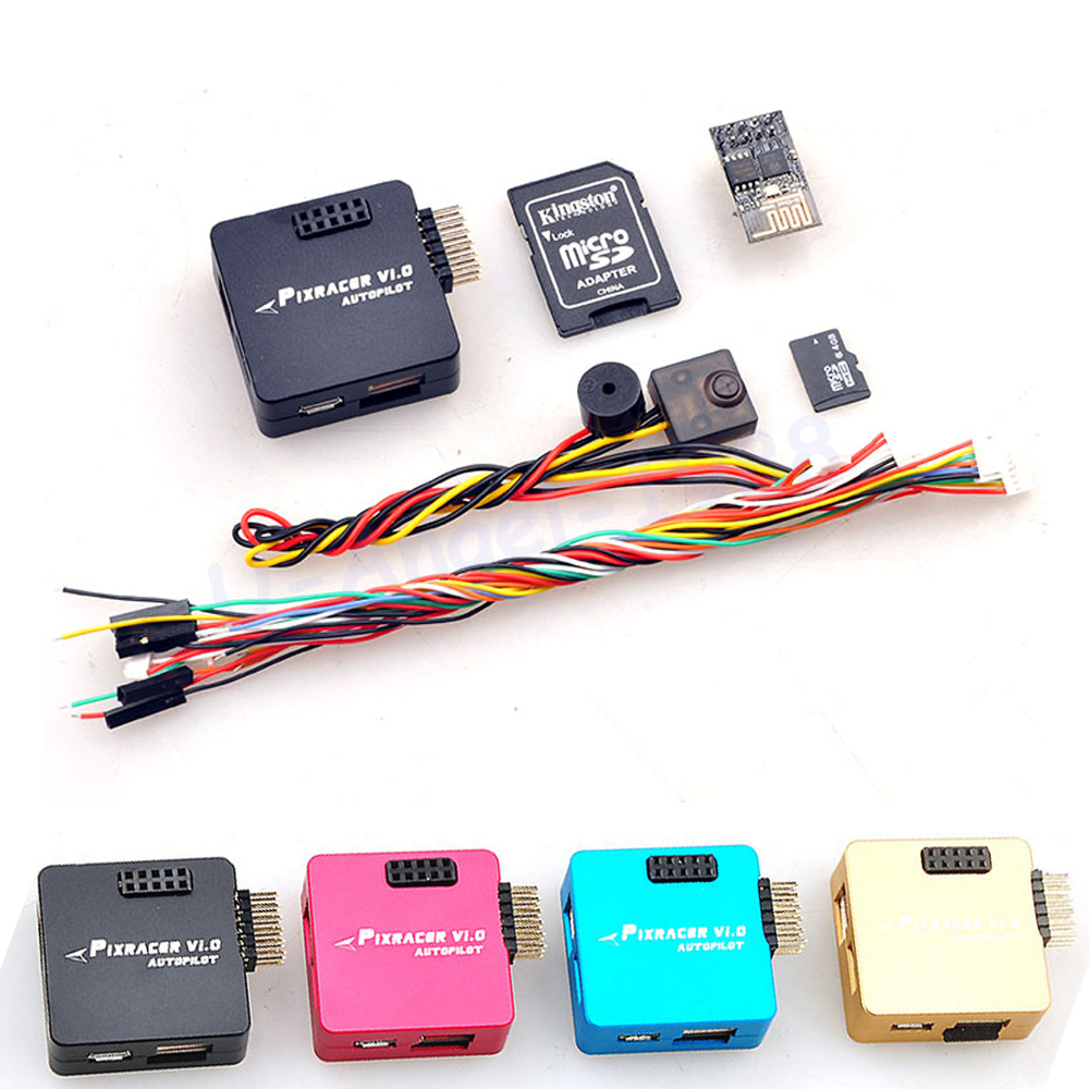 Pixracer R14 Autopilot Xracer Mini Px4 Flight Controller Board New Diy Make A Circuit Fly With This Cute Tiny Quadcopter Kit Fmu V4 V10 For Qav250