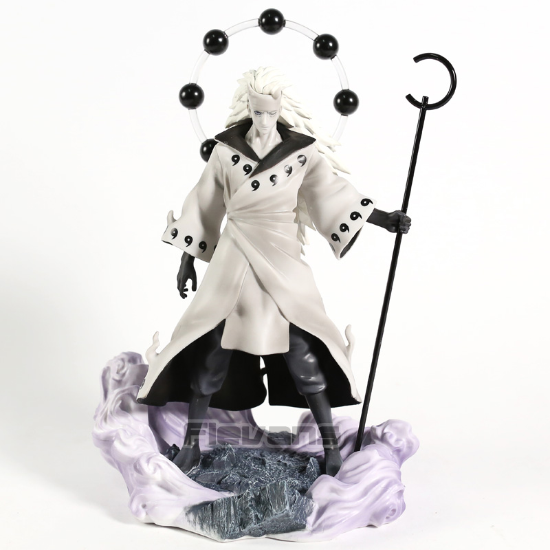 Naruto Shippuden Rikudo Sennin Uchiha Madara PVC Figure Statue Collectible Model Toy