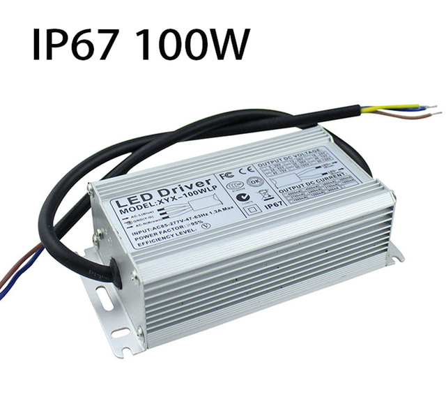 Dc18v 36v ip67 waterproof 100w led power supply ac85 277v input led dc18v 36v ip67 waterproof 100w led power supply ac85 277v input led driver transformer workwithnaturefo