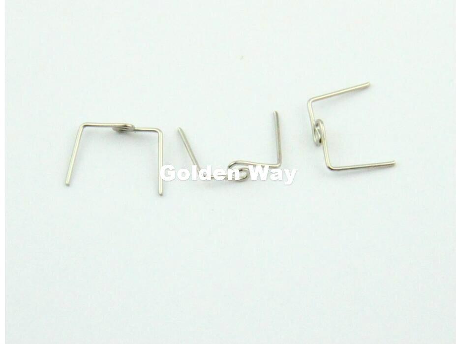10000 pcs/Lot 33mm torsion boucle cravate Clips perle rideau accessoires lustre éclairage lampe connecteurs métal noeud papillon boucles