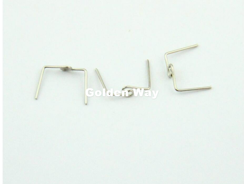 10000pcs/Lot 33mm Twist Buckle Tie Clips Bead Curtain Accessories Chandelier lighting Lamp Connectors Metal Bow tie Buckles 6 pcs lot metal plating processing leather handbag aglet link buckle decorative accessories