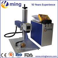 Trung quốc Nhà Sản Xuất 20 Wát/30 Wát/50 Wát xách tay/máy tính để bàn sợi laser máy đánh dấu với 110*110/150*150/200*200 mét làm việc diện tích kích thước