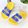 New lovely Kids Summer Casual Shoes Toddler Baby Sandals Children Boys Girls Cute Candy Color Hole Slippers Baby Accessories