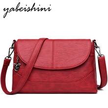 купить 2019 Fashion Women Bag Leather Shoulder Bag PU Crossbody Bags Flip cover + zipper Handbags for Women Messenger Bags Four seasons по цене 1184.74 рублей