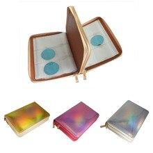 1 stks 336 Slots Stempelen Plaat Houder Case Rainbow Goud Zilver Ronde Rose Vierkante Nail Art Plaat Organizer