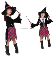 Children Fantasia cosplay little Witch costume Abra Academy Little girl suits Halloween Christmas party clothing carnival dress