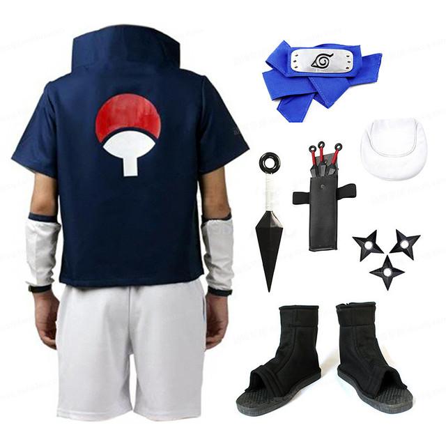 Uchiha Sasuke Cosplay Complete Set