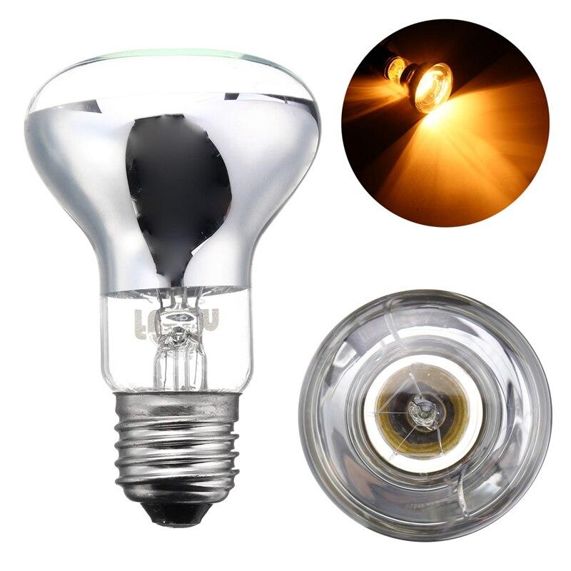 Best Promotion 25/50/75/100W R63 Day Night Neo <font><b>Emitter</b></font> Heater Pet Heating Lamp Reptile Birds Brooder Heat Light Lamp 220-240V