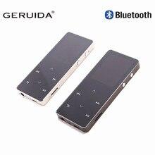Geruida MP4 плеер Bluetooth Сенсорный экран HiFi MP4 8 ГБ Многоязычная плеер с повязкой царапинам FM Спорт видео плеер