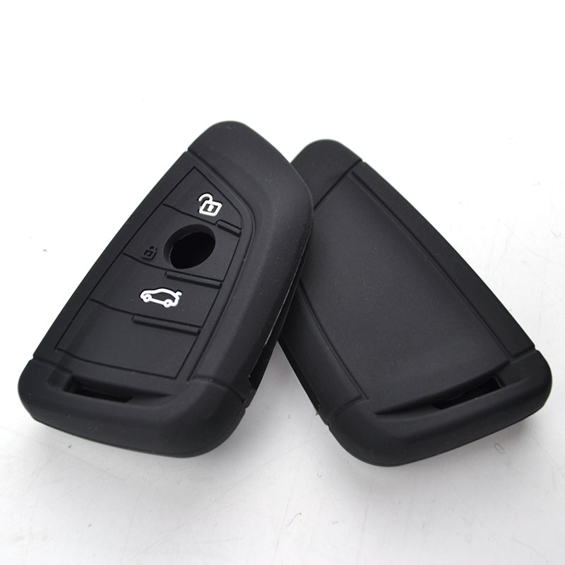 Fob Remote Holder Silicone Key Case Cover For BMW X1 X5 X6 5 7 Series 2017