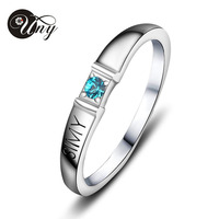 UNY 925 Sterling Silver Special Customized Engrave Family Valentine S Day Gift Specail Love Heart Shape