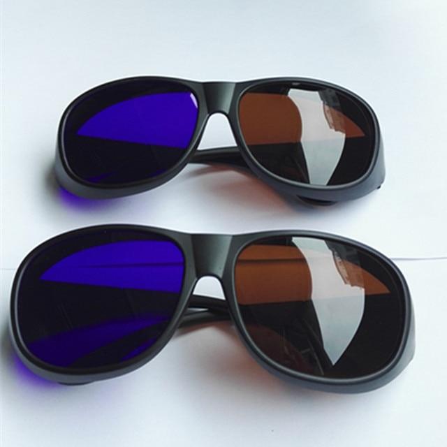 2 pcs Big Quadro Âmbar Azul óculos 3D marrom azul Anaglyph Óculos 3D Vision  Óculos 55e277c300