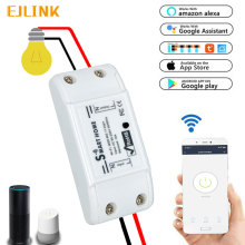 EJLINK Tuya Smart Wifi Switch DIY Wireless Remote Breaker Domotica Light Home Controller Work with Alexa