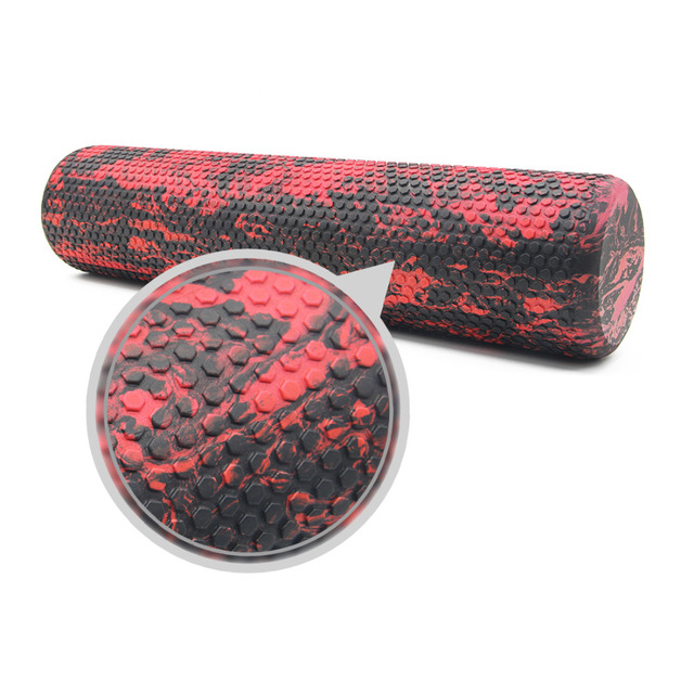 60CM EVA Foam Roller Trigger Point Muscle Tissue Massage Fitness Gym Yoga Pilates Sports roller High Quality