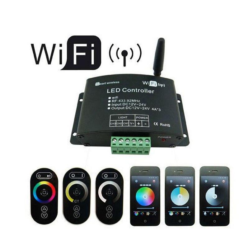 1X nouvelle version WiFi RGB LED de contrôle livraison gratuite