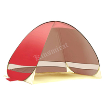 2017 Beach tent sun shelter UV-protective quick automatic opening tent shade lightwight pop up open for outdoor camping fishing