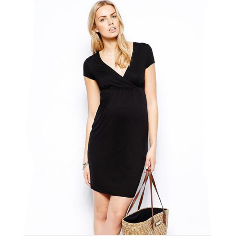Maternity clothes for Women short Sleeve Maternity T shirt for Pregnancy Plus Size Clothes for Summer season maternity outwear