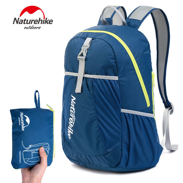 NH Brand Outdoor Sport Travel Mountaineer Hiking Climbing Bicycle Portable Ultralight Waterproof Folding Backpacks Bags 5 Color