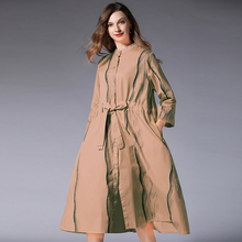 Shirt Dress Plus Size Women 2019 Spring Office Lady Solid Red Black Casual Elegant Eleastic Waist Sashes Dresses For Woman