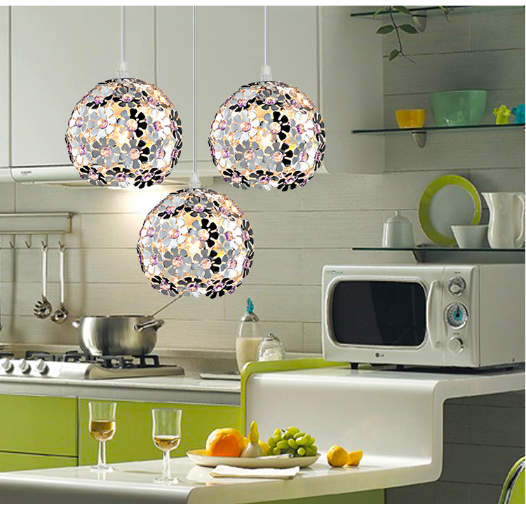 simple aluminum 1/3 heads pendant light  art dining room lamps Restaurant coffee store clothing store bar pendant lamps ZA10 bamboo cages pendant lights creative hand made living room dining room simple coffee shop clothing store decorative lamps za