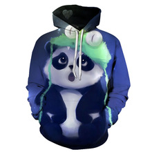 093b6daf28f 2018 New Fashion Wolf Hoodies Men women 3d Sweatshirts Print panda small  flower Hoody Hooded Hoodies Tracksuits Tops