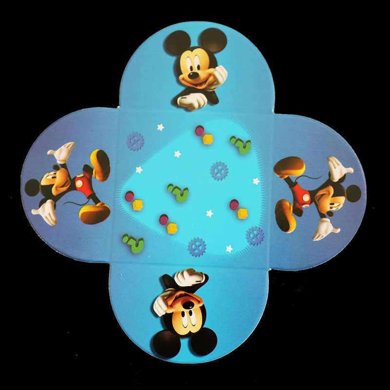 Mickey Mouse tema della torta titolare del cioccolato di caso di Mickey Mouse del partito decorazioni Mickey Mouse decorazioni della torta di cioccolato scatole