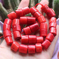 "11-13x9-10mm Red Coral Freeform Loose Beads 15"",For DIY Jewelry Making !We provide mixed wholesale for all items!"