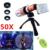 2017 50x metal teleobjetivo zoom lentes lente de la cámara para samsung s3 s4 s5 s6 s7 borde nota 2 3 4 5 lentes de ojo de pez gran angular macro 7