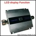 Nueva ganancia modelo de función de visualización LCD 55dbi metros max.500square GSM 900 Mhz teléfono móvil amplificador de señal y repetidor