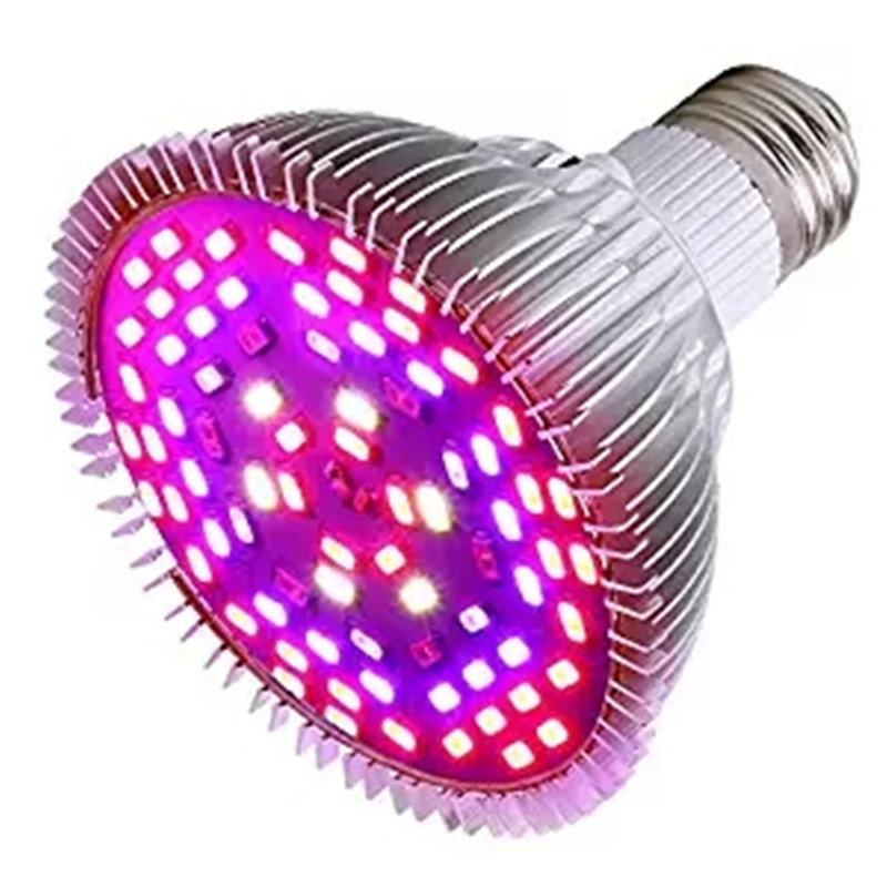 Grow Plant Light Full Spectrum E27 Phyto-lamp Bulbs 8W 30W 50W 80W Heat Dissipation For Indoor Seedling Flower Fitolamp Phytolam